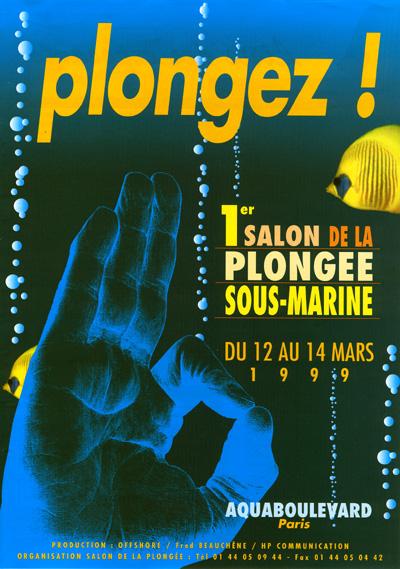 1ère édition du Salon de la Plongée Sous-Marine1999