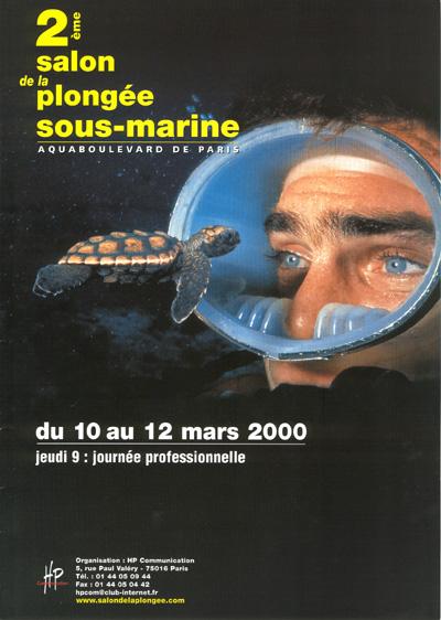 2ème édition du Salon de la Plongée Sous-Marine2000