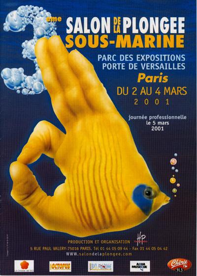 3ème édition du Salon de la Plongée Sous-Marine2001