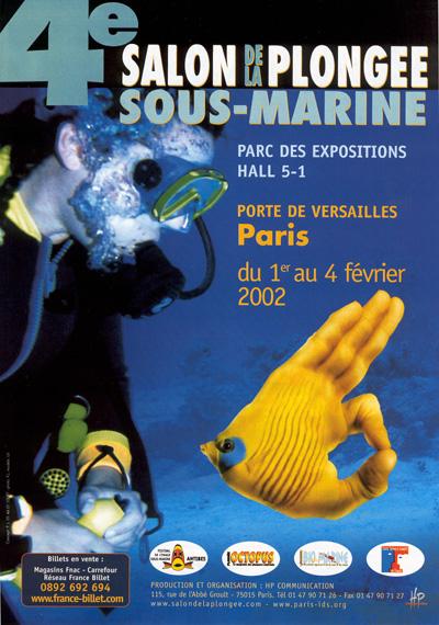 4ème édition du Salon de la Plongée Sous-Marine2002