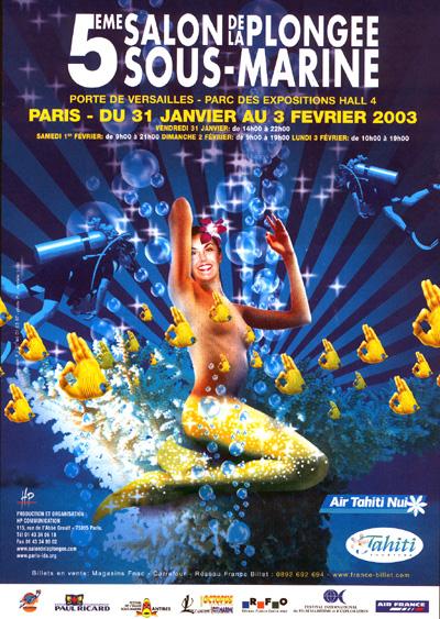 5ème édition du Salon de la Plongée Sous-Marine2003