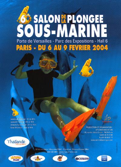 6ème édition du Salon de la Plongée Sous-Marine2004