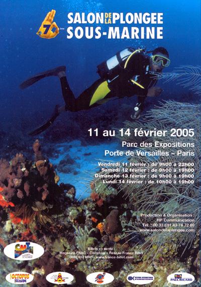 7ème édition du Salon de la Plongée Sous-Marine2005