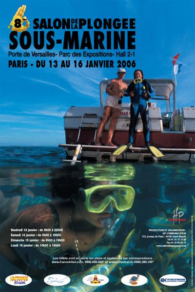 8ème édition du Salon de la Plongée Sous-Marine2006