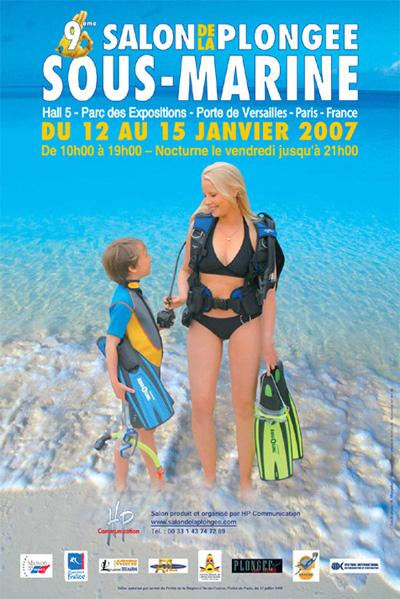9ème édition du Salon de la Plongée Sous-Marine2007