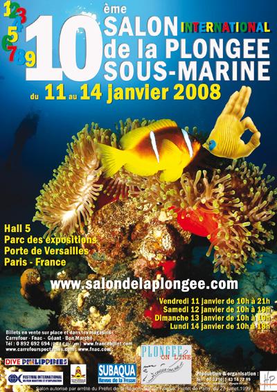 10ème édition du Salon de la Plongée Sous-Marine2008
