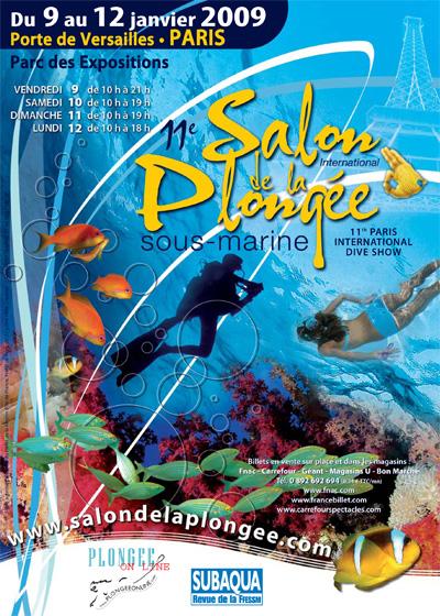 11ème édition du Salon de la Plongée Sous-Marine2009