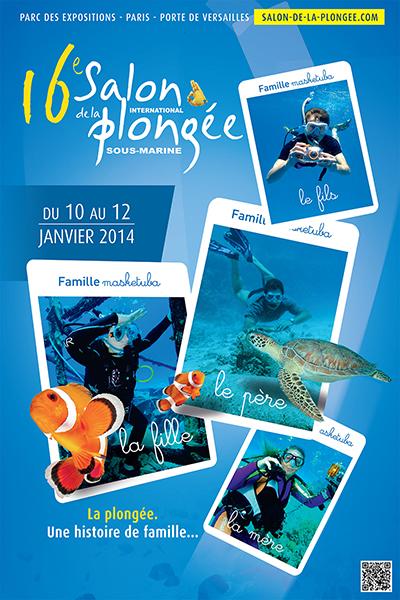 16ème édition du Salon de la Plongée Sous-Marine2014
