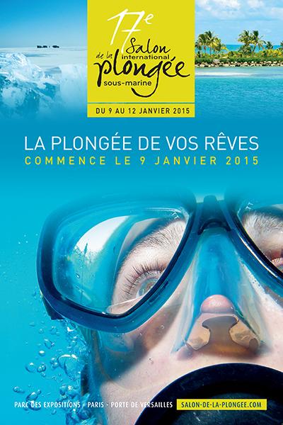 17ème édition du Salon de la Plongée Sous-Marine2015