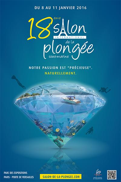 18ème édition du Salon de la Plongée Sous-Marine2016